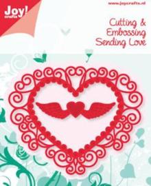 6002-0382 Snij- en embosmal - Joy Crafts
