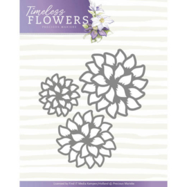 PM10122 Snij- en embosmal - Timeless Flowers - Marieke Design
