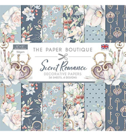 PB1113 Paperpad 30.5 x 30.5 cm Secret Romance - The Paper Boutique   PAKKETPOST!