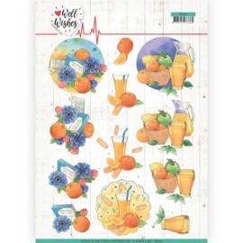 CD11462 Knipvel A4  - Well Wishes - Jeanine's Art