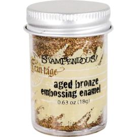 Frantage Aged Bronze Embossing Enamel - Stampendous