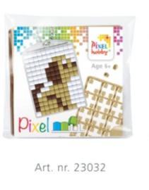 23032 Sleutelhanger setje compleet - Puppie - Pixel Hobby
