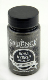 Dora Hybride metallic verf 90ml - Antraciet - Cadence