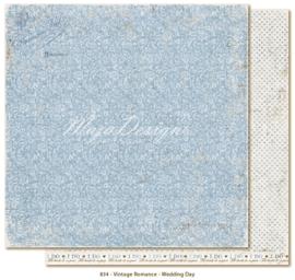 834 Scrappapier dubbelzijdig - Vintage Romance - Maja Design