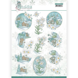 CD11572 3D vel A4 - Winter Time - Yvonne Creations