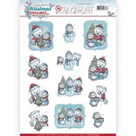 SB10274 Uitdrukvel A4  - Christmas Dreams - Yvonne Creations