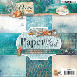 PPOV117 Paperpad 15x15cm - Ocean View - Studio Light
