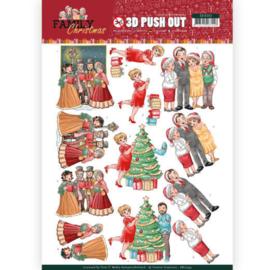 SB10393 uitdrukvel A4 - Family Christmas - Yvonne Creations