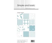 SBP902 Slim Paperpack 21x10cm - 24 stuks - Simple and Basic