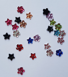 Strass Flowers Windmill  - MIX - 25 stuks