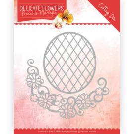 PM10181 Snij- en embosmal - Delicate Flowers - Marieke Design