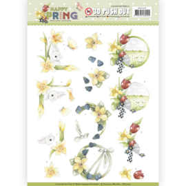 SB10329 Stansvel A4 - Happy Spring - Marieke Design