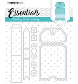 STENCILSL276 Snij- en embosmal - Essentials  - Studio Light