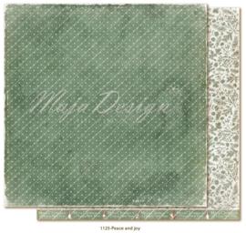 1125 Scrappapier dubbelzijdig - Traditonal Christmas - Maja Design