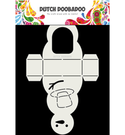 470.713.840 Dutch Card Art A4 Sneeuwpop - Dutch Doobadoo