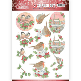 SB10390 Uitdrukvel A4 - Lovely Christmas - Jeanine's Art