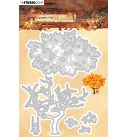 STENCILWA310 Snij- en embos stencil - Wonderful Autumn - Studio Light