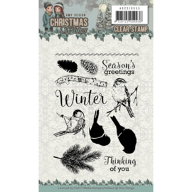 ADCS10055 Clearstempel - Christmas Wishes - Amy Design