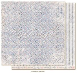 1027 Scrappapier dubbelzijdig - Denim en Girls - Maja Design
