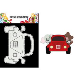 470.713.862 - Card Art Built up Car - Dutch Doobadoo