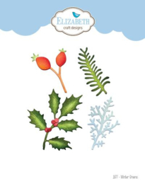 1877 Snijmal Winter Greens - Elizabeth Craft
