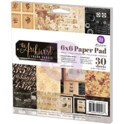 990268 Paperpad 15x15cm - The Archivist  - Prima Marketing