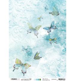 BASISJMA02 Achtergrondpapier A4 dubbelzijdig - Jenine's Mindful Art - Studio Light