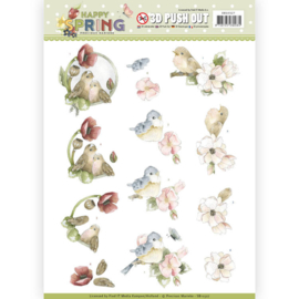 SB10327 Stansvel A4 - Happy Spring - Marieke Design