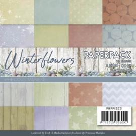PMPP10021 Paperpad - Winterflowers - Marieke Design