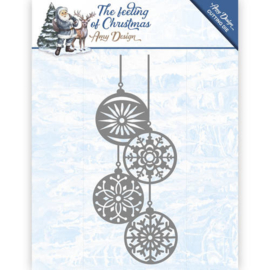 ADD10113 Snij- en embosmal - The Feelings of Christmas - Amy Design