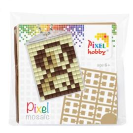 Sleutelhanger setje compleet - Puppie  -  Pixel Hobby