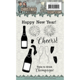 ADCS10053 Clearstempel - Christmas Wishes - Amy Design