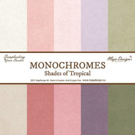 Monochromes set van 5 -  Tropicial Garden - Maja Design - PAKKETPOST!