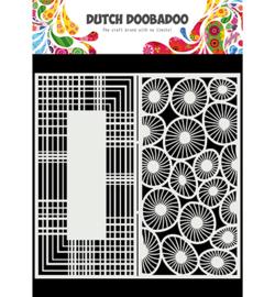 470.715.826 - Mask Art Slimline Circles - Dutch Doobadoo