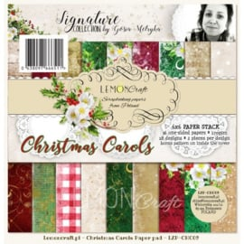 Paperpad 15.2 x 15.2 cm Christmas Carols 36 vel  - Lemon Craft