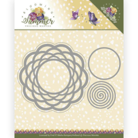 PM10152 Snij- en embosmal - Blooming Summer - Marieke Design