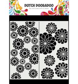 470.715.823 - Mask Art Slimline Flowers - Dutch Doobadoo