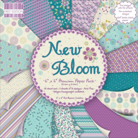 Paperpad 20 x 20cm - 48 vel - New Bloom - First Edition