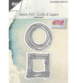 6002-1037 Snij- en embosmal  - Joy Crafts