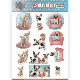 SB10378 Stansvel  A4 - Dog's Life - Amy Design