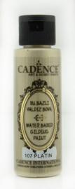 Gilding metallic acrylverf 70ml - Platina - Cadence