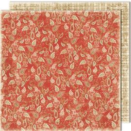 480 Scrappapier dubbelzijdig - Vintage Winter - Maja Design