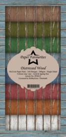 PFS012 Dixi Slimline PaperPack 10x21 cm Distressed Wood