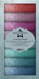 DFS010 Dixi Slimline PaperPack 10x21 cm Scratched Metal
