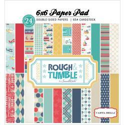 Paperpad 15x15cm - Rough Tumble - Carta Bella