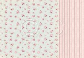 PD32004 Scrappapier Dubbelzijdig - Cherry Blossom Lane - Pion Design