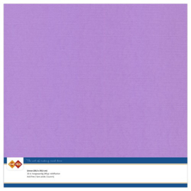 17 Lila - Linnen Karton 30,5 x 30,5cm - 10 stuks - 200 grams - Card Deco - PAKKETPOST!!