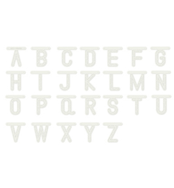 470.990.110 Alphabeth Art Stencil - Dutch Doobadoo