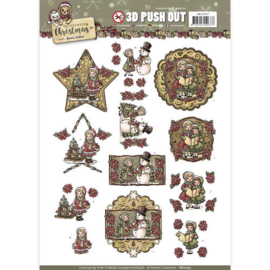 SB10197 Stansvel 3D vel A4 - Celebrate Christmas - Yvonne Creations