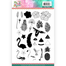 YCCS10051 Stempel - Happy Tropical - Yvonne Creations